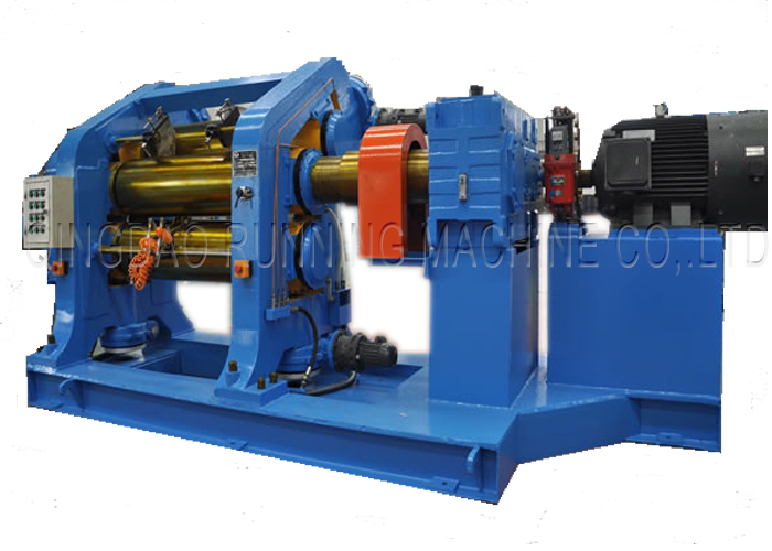 Three- Four Roll Rubber/ Plastic Calender Machine for Extruding and